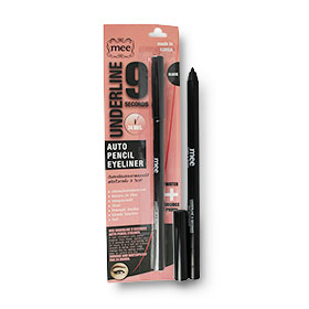 Mee Underline 9 Seconds Auto Pencil Eyeliner #Black
