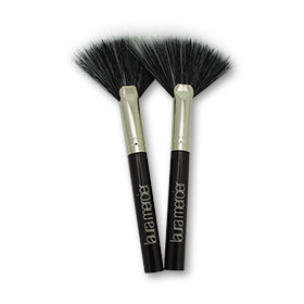 แพ็คคู่ Laura Mercier Mini Fan Powder Brush