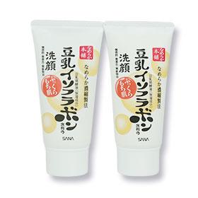 แพ็คคู่ Sana Nameraka Isoflavone Cleansing Foam Wash (30g x2)