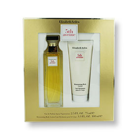 Set Elizabeth Arden 5th Avenue EDP 75ml & Moisturizing Body Lotion 100ml