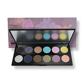 4U2 I-Pro 12 Professional Eye Palette #Rainbow 24g