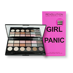 Makeup Revolution Girl Panic 18 Exclusive Eyeshadow Palette 13g