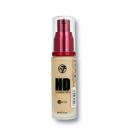 W7 HD Foundation #Sand Beige 30ml