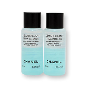 แพ็คคู่ Chanel Demaquillant Yeux Intense Gentle Biphase Eye Makeup Remover (10ml x 2)