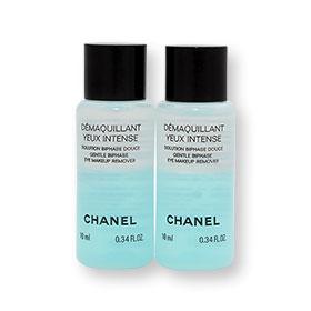แพ็คคู่ Chanel Demaquillant Yeux Intense Gentle Biphase Eye Makeup Remover (10ml x 2)