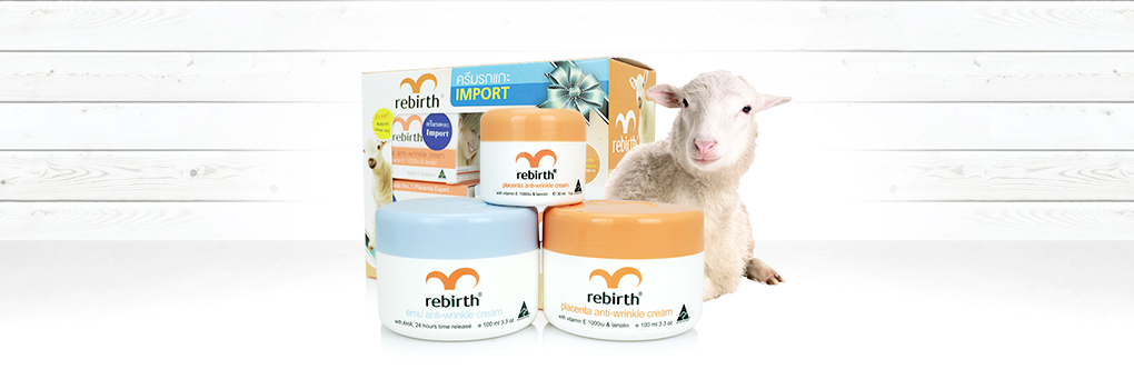 Rebirth Placenta & Emu Anti-Wrinkle Set 2 Items(100ml×2) Free Placenta Cream(30ml)
