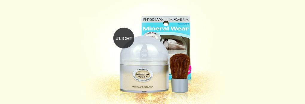 Physicians Formula Mineral Wear Talc-Free Loose Powder SPF16 #Transulucent light 2449
