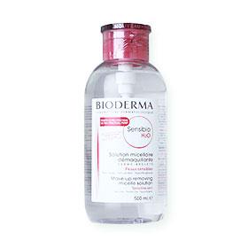 Bioderma Sensiio H2O Solution Micellaire Make-Up Removing Pump 500ml