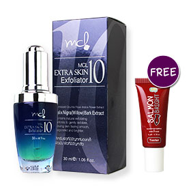 MCL Extra Skin Exfoliator10 30ml (Free Salmon Bright Salmon Roe Sleeping & Wake Up Mask 5g)