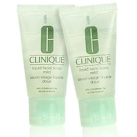 แพ็คคู่ Clinique Liquid Facial Soap Mild 30ml