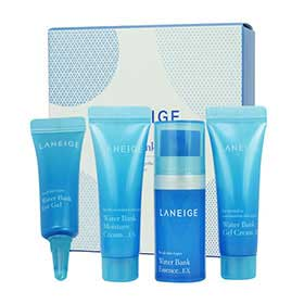 Laneige Water Bank Kit 4 Items