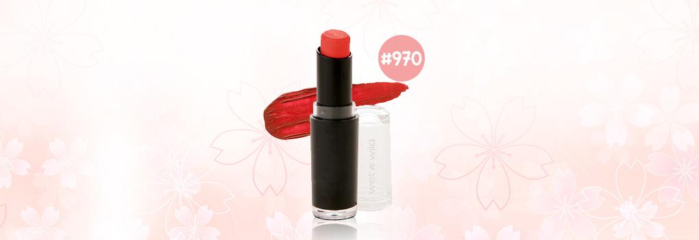 Wet n Wild Lipstick #970 Purty Persimmon
