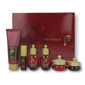 The History of Whoo JinYulHyang Special Gift 6 Items