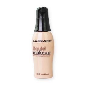 L.A. Colors Liquid Makeup / Natural #BLM282