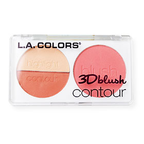 L.A. Colors 3D Blush Contour / Love Bird #CBL810