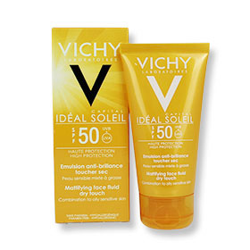 Vichy Ideal Capital Soleil Mattifying Face Fluid Dry Touch SPF50 50ml