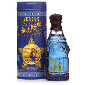 Versace Versus Blue Jeans Eau De Toilett Spray for Men 75ml