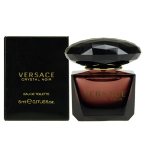 VERSACE CRYSTAL NOIR EDT Natural Spray 5ml
