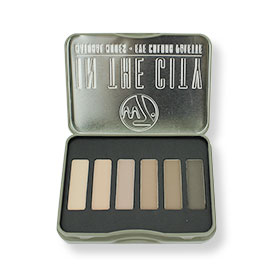 W7 In the City Natural Nudes Eye Colour Palette (6 Colours)