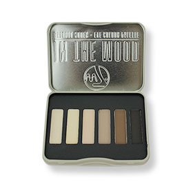 W7 In the Mood Natural Nudes Eye Colour Palette (6 Colours)