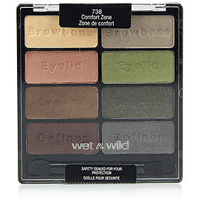 Wet n Wild Coloricon Eyeshadow Collection #Comfort Zone-738