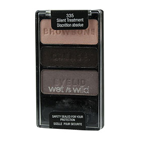 Wet n Wild  Color Icon Eye Shadow Trio 3.5g #335 Silent Treatment