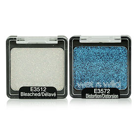 แพ็คคู่ Wet n Wild Color Icon Glitter 2 Colors #E3512 Bleached & #E3572 Distortion
