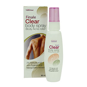 NanoMed Finale Clear Body Spray Body Acne Relief 60ml