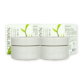 แพ็คคู่ NARUKO Magnolia Brightening and Firming Night Gelly 15ml