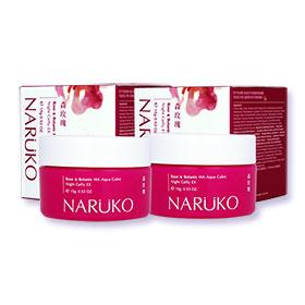 แพ็คคู่ Naruko Rose&Botanic HA Aqua Cubic Night Gelly EX (15g×2)