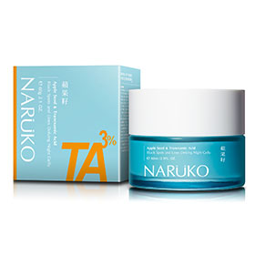 Naruko Apple Seed& Tranexamic Acid Black Spots and Lines Defying Night Gelly 60ml