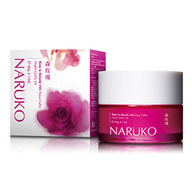 Naruko Rose & Botanic HA Aqua Cubic Night Gelly EX 60g