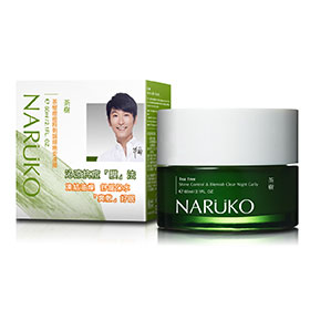 Naruko Tea Tree Shine Control & Blemish Clear Night Gelly 60ml