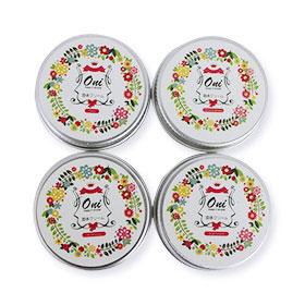 Oni Perfume Balm Set (Omnia Amethyste,Be Delicious,Bright Crystal,CoCo) 4x15g