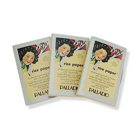 Palladio Rice Paper #Translucent 40 Tissues 3pcs. (แพ็ค 3)