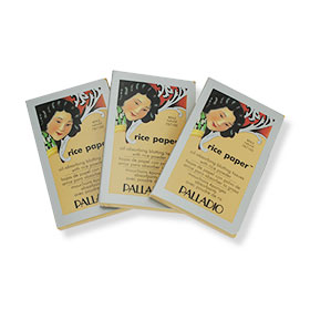 Palladio Rice Paper #Natural 40 Tissues  3pcs. (แพ็ค 3)