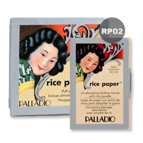 Palladio Rice Powder #Translucent 17g (RP02) with Rice Paper #Translucent 40 Tissues
