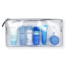 Laneige Moisture Care Travel Kit Travel Exclusive (6 Items) With Bag