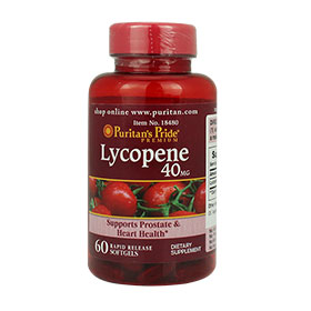 Puritan's Pride Lycopene 40mg (60 Softgels)
