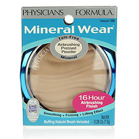 Physicians Formula Mineral Wear Talc-Free Mineral Airbrushing Pressed Powder SPF 30 #Translucent(7586)