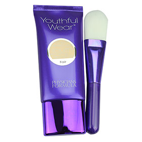 Physicians Formula Youthful Wear Foundaton + Brush #Fair 7556
