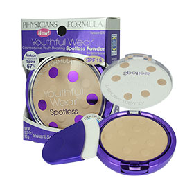 Physicians Formula Youthful Wear Cosmeceutical Youth-Boosting Spotless Powder #Translucent 6210