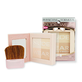 Physicians Formula Nude Wear Glowing Nude Powder #Light 6217
