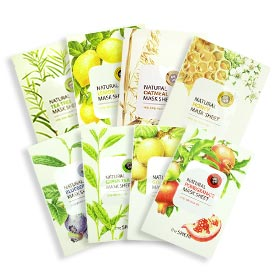The Saem Whitening Mask Set 8 sheets