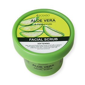 Beauty Buffet Scentio Aloe Vera & Hyaluronate Facial Scrub 100ml