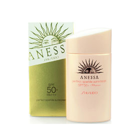 Shiseido Anessa Perfect Sparkle Sunscreen SPF50+PA+++ 60ml