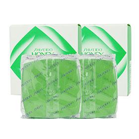 แพ็คคู่ Shiseido Honey Cake Translucent Soap E- 4 (Refill) 100g