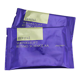 แพ็คคู่ Shiseido Revital Wrinklelift Retino Science AA (2Sheets x2)