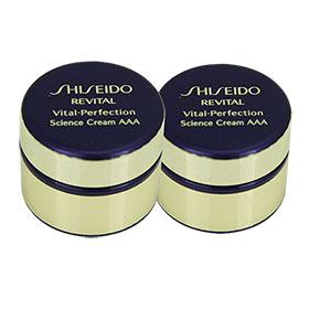 แพ็คคู่ Shiseido Revital Vital-Perfection Science Cream AAA (7ml x2)