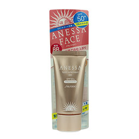 Shiseido Anessa Face Sunscreen BB #Natural Beige SPF50+PA++++ 30g